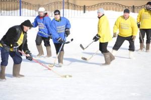 хоккей в валенка53ad62