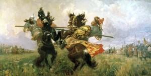 Авилов Пересвет - монах - воин
