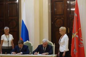 Подписание договора Полтавченко и Макаров DSC09911