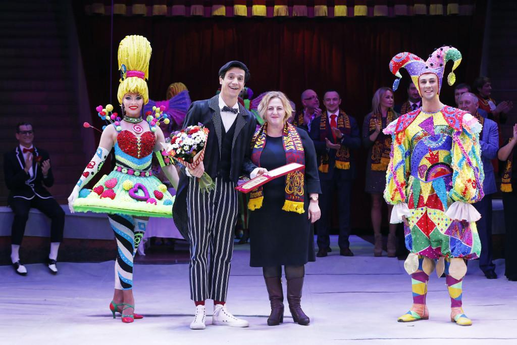 Международный фестиваль. Россия, СПб, Цирк Чинизелли, 9 декабря 2018 года.