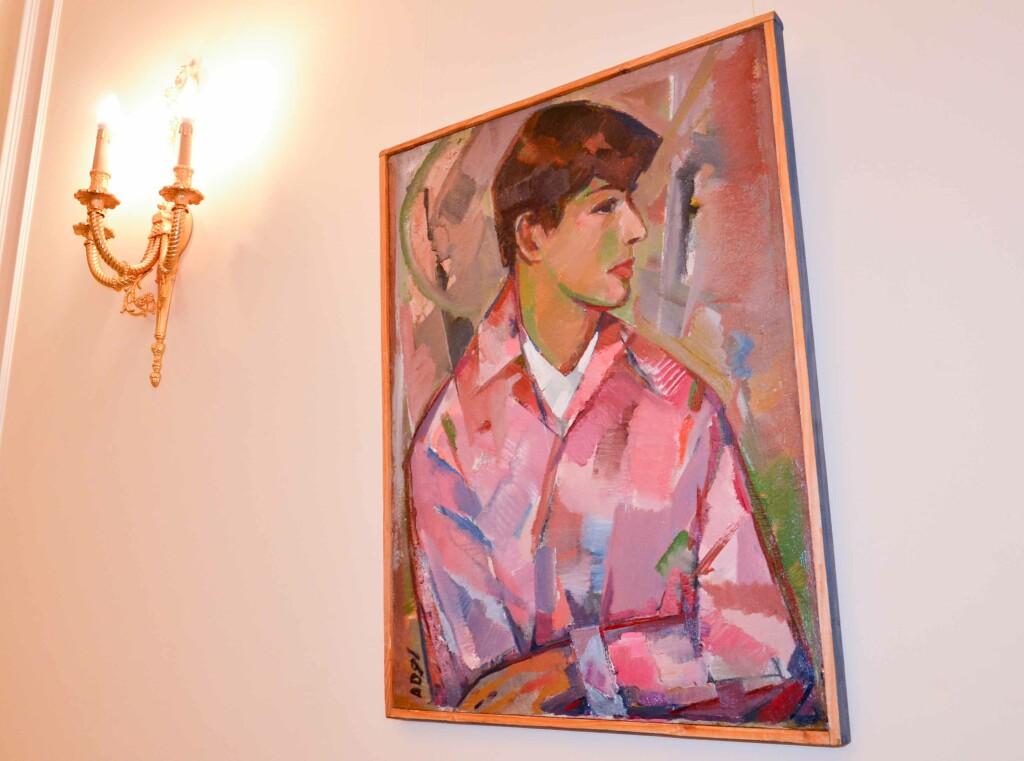 Портрет Павла Давыдова (студента). 1987